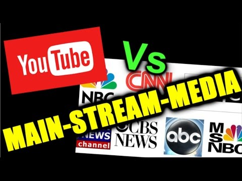 Youtube vs Main-Stream-Media... is there a conspiracy?