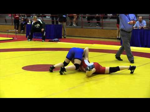 2015 Nordhagen Classic: 48 kg Annie Monteith vs. Abby Lloyd