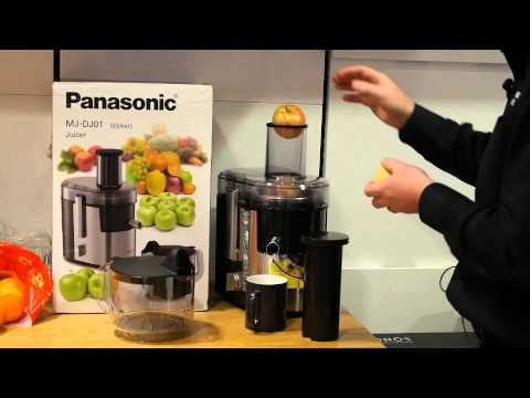 Panasonic Mj L500 Estrattore Slow Juicer 150w Grigio : Big Bang predstavlja: Po?asni sokovnik Panasonic MJ-L500 FunnyCat.Tv