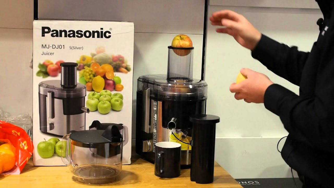 Test Af Slow Juicer : Panasonic slow juicer test Kokkenredskaber