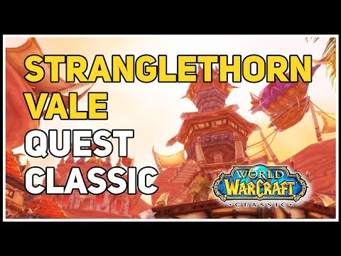 Hunting In Stranglethorn Quest WoW Classic