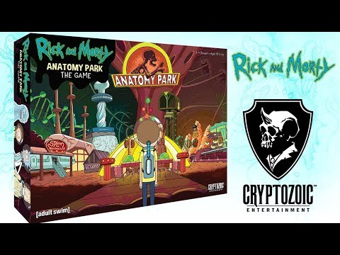 Rick and Morty: Anatomy Park | Cryptozoic Games