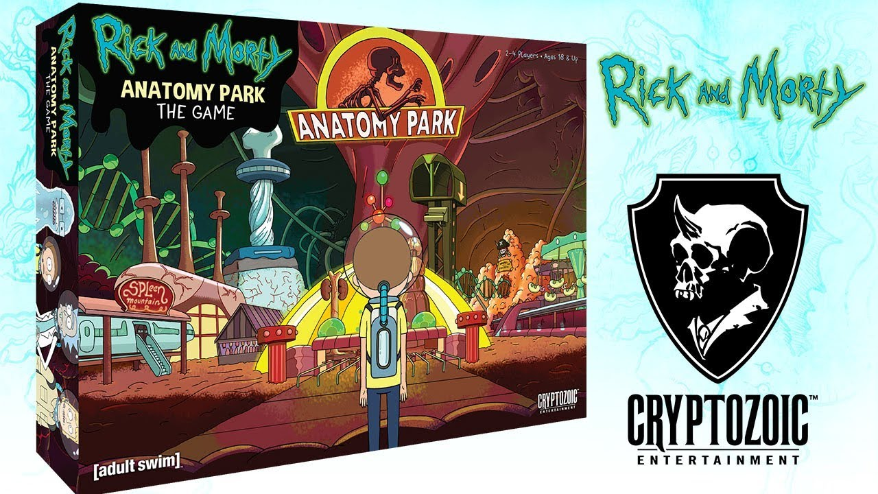 Rick and Morty: Anatomy Park | Cryptozoic Games - YouTube