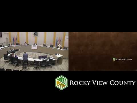 October 22, 2019 - Rocky View County Council Meeting