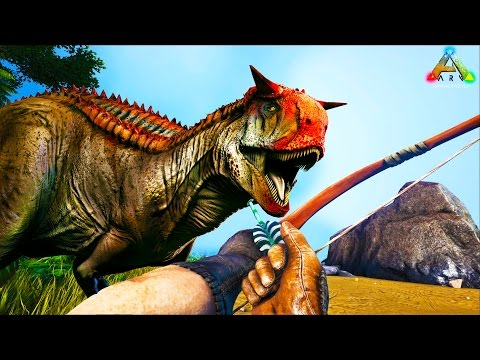 HikePlays ARK Survival: Hunting CARNOS, BRONTOS & Dolphin!! - The Dino Hunter! EP.12 w/ Stream Team!