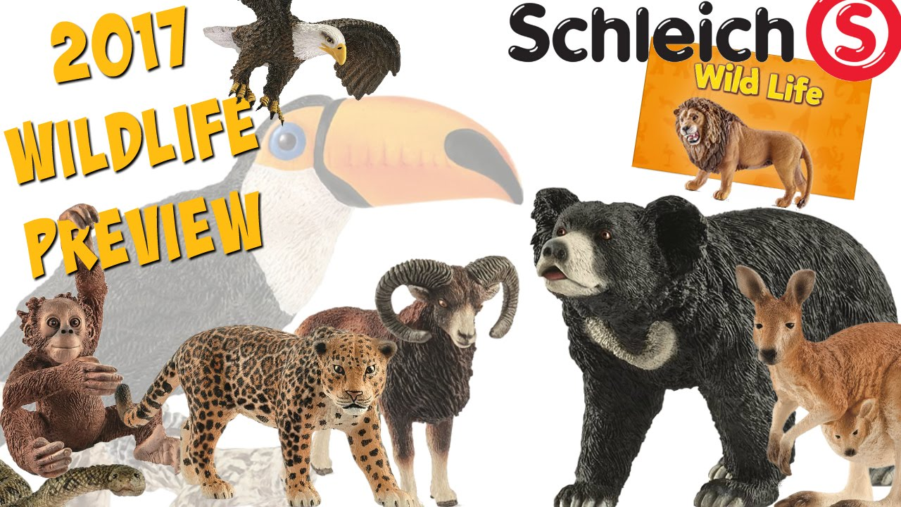 Schleich 2017 Wild Life Preview - YouTube