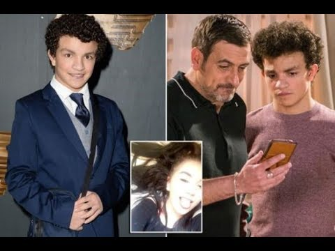 Teenage Coronation Street star Alex Bain's girlfriend announces she's PREGNANT at age 16