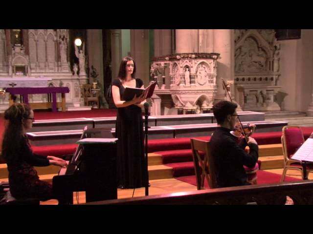Mary Flaherty sings - Ora Pro Nobis - Mozart