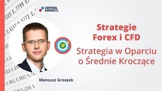 Strategie Forex i CFD - Strategia w Oparciu o Średnie Kroczące