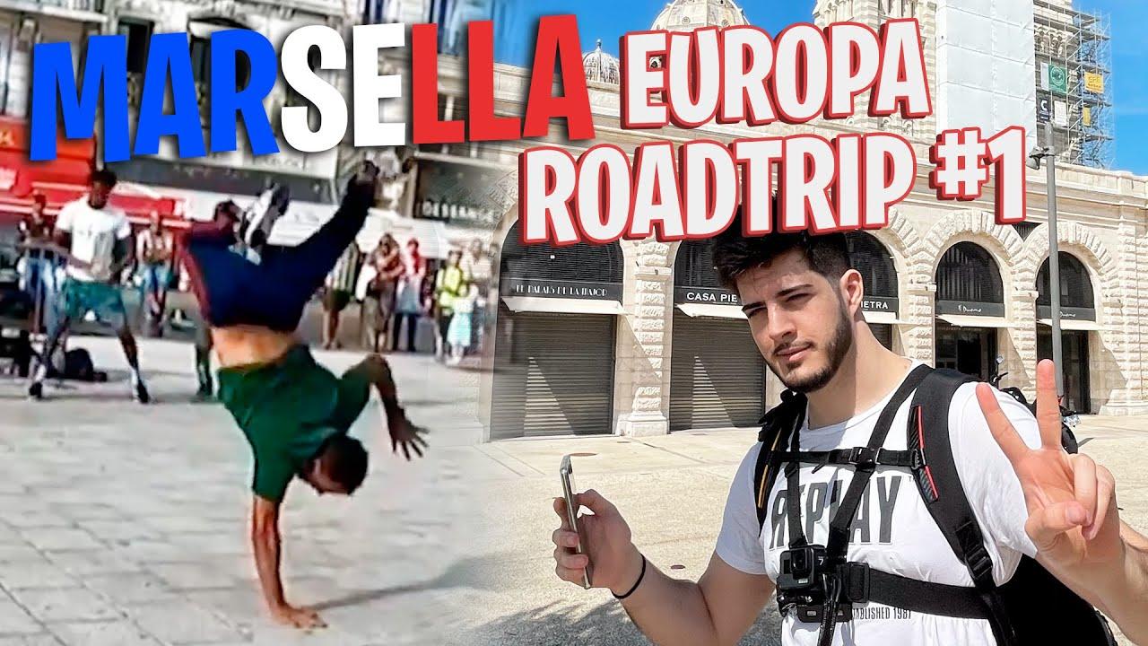 MARSELLA VICE, VISITANDO LA CIUDAD MÁS PELIGROSA DE EUROPA!!! | EUROPA ROADTRIP #1 | ElmiilloR