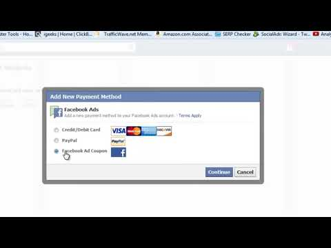 Get 100 $ facebook ads coupon - 2018 - YouTube