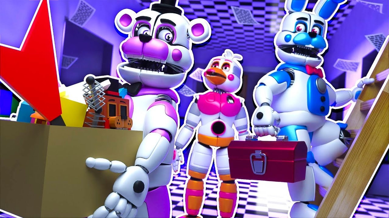 New FNAF Man Cave | Minecraft Five Nights at Freddy's Roleplay