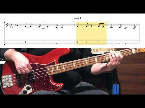 Supertramp - The Logical Song ( Bass Cover Tabs In Video )