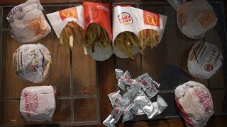 Double Cheese Burger Showdown: McDonald