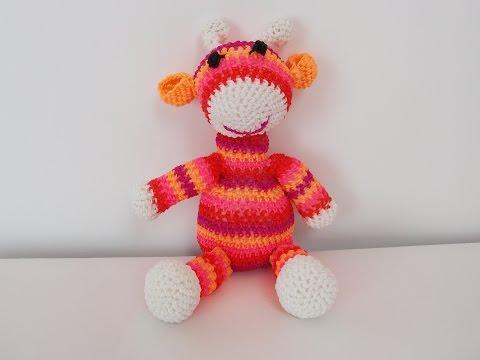 Rainbow Loom Amigurumi Mouse : How To Crochet A Giraffe Doovi