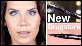 L'OREAL SUPERSTAR Mascara & Eyeliner | FIRST IMPRESSIONS