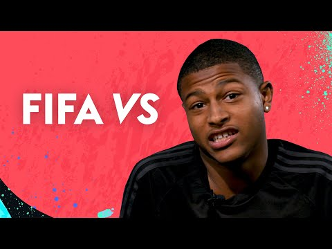 Who does Brewster think is faster, Salah or Mane? 🏃💨 | Rhian Brewster vs FIFA 20