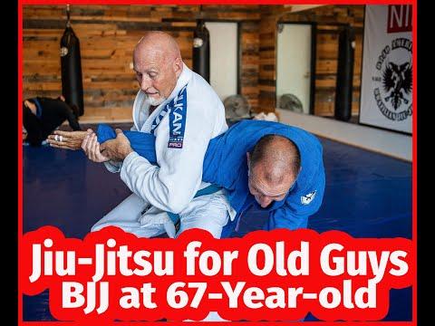69-year-old Jiu-Jitsu Blue Belt Trying To Smash Black Belt