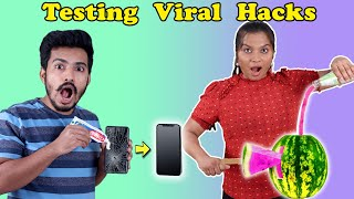 Testing Amazing Viral Hacks | Easy Hacks At Home | Hungry Birds
