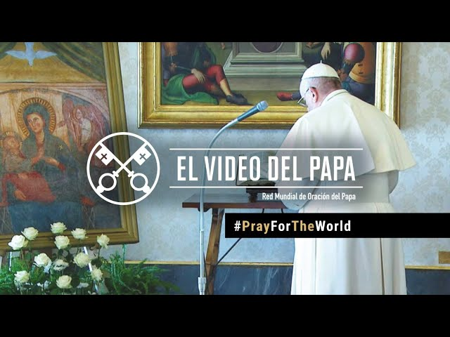 PAPA FRANCISCO: RECEMOS POR EL FIN DE LA PANDEMIA. PRAY FOR THE WORLD
