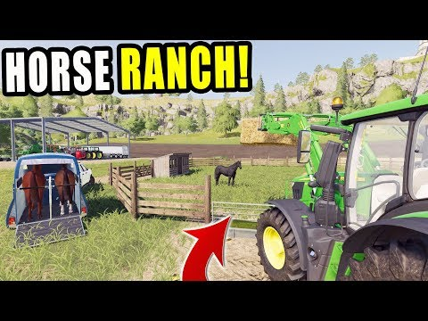 DELIVERING HORSES | LET'S FARM RAVENPORT 3 | FARMING SIMULATOR 2019 thumbnail