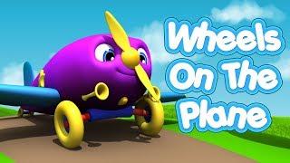 Wheels On The Plane | Nursery Rhymes | Baby Songs | Kids Songs | 4K
