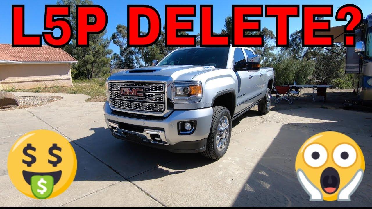 Duramax Def Delete >> L5p Delete Update