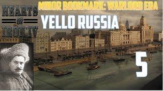 Hearts of iron 4 Minor Bookmark: Warlord Era Żółta Rosja #5