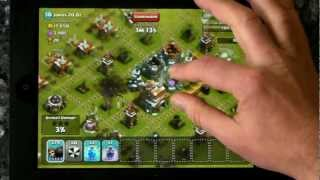 clash of clans coc 245 wall breaker attack by bonbee canada HD
