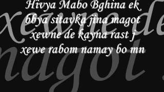 Karwan Kamil xewne (lyrics)