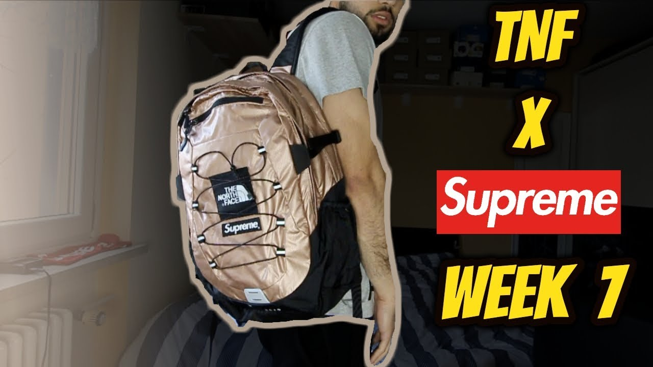 9fde5e1de Supreme®/The North Face® Metallic Backpack REVIEW *WEEK 7 PICKUPS SS18*
