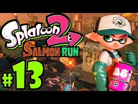 Splatoon 2 ~ Salmon Run - New Map: Lost Outpost - Nintendo Switch Gameplay Walkthrough PART 13