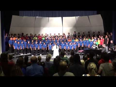 CATHEDRAL CITY HIGH SCHOOL COMBINED CHOIR CONCERT, NOVEMBER 6, 2019 WITH MICHAEL VELASQUEZ.