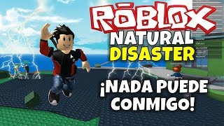 ANYTHING YOU CAN WITH ME! ROBLOX: Natural Disaster Survival!