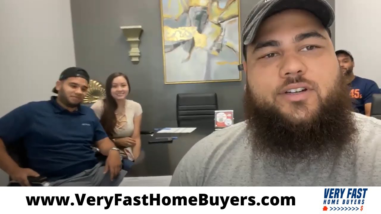 Very Fast Home Buyers in Houston review | Mrs. Olivia and her husband