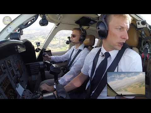 Lufthansa Trainee's PERFECT Touch & Go + Landing on his EFA Citation Jet CJ1 in Bremen!!! [AirClips]