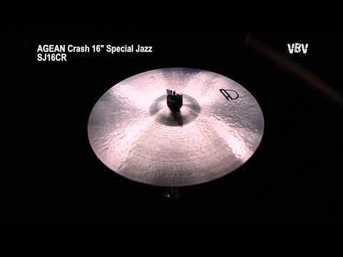 "16"" Crash Special Jazz video"