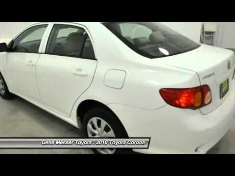 2010 Toyota Corolla At Gene Messer Toyota In Lubbock AZ211355
