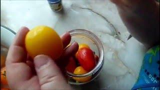 Как закатать помидоры, чтобы они не лопались