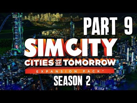 SimCity Cities of Tomorrow Walkthrough Part 9 - Wave Power