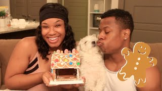 GINGERBREAD HOUSE CHALLENGE FAIL (WE HAD A HUGE ARGUMENT!) VLOGMAS DAY 19
