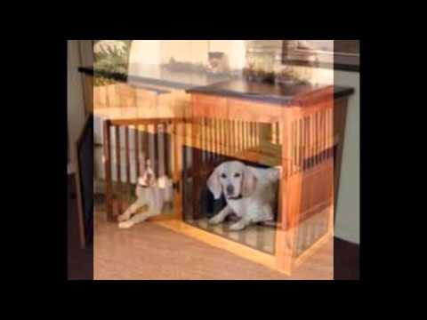 Dog Kennel Table   YouTube