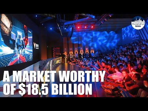 Shanghai games - A $18.5 billion market with growing international appeal