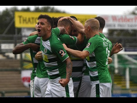 Highlights | Yeovil Town 3-1 Bromley