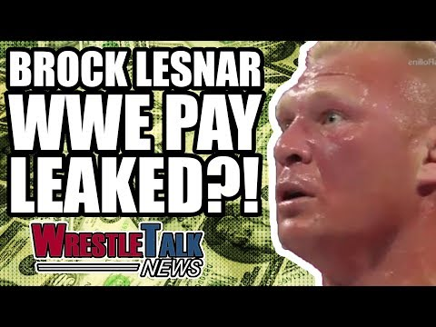 Brock Lesnar WWE Pay LEAKED?! | WrestleTalk News Apr. 2018