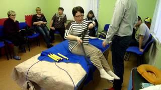 Испытания ремня с петлями и лесенки для подъема с кровати №3