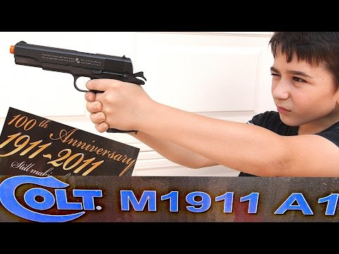Colt 100th Anniversary M1911 A1 CO2 Blowback Airsoft Pistol