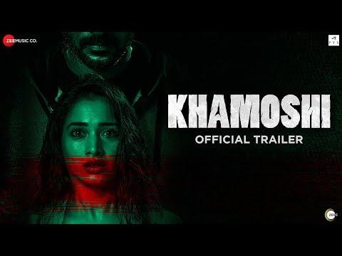 Khamoshi - Official Trailer   Prabhu Deva, Tamannaah Bhatia, Bhumika Chawla & Sanjay Suri