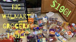 WALMART GROCERY HAUL | Vlogtober Day 27