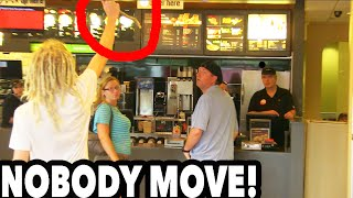 STICK UP PRANK GONE WRONG!! With Steve-O